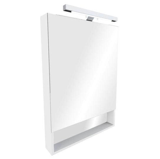 Зеркало-шкаф Roca Gap 70 ZRU9302748 белый со светильником