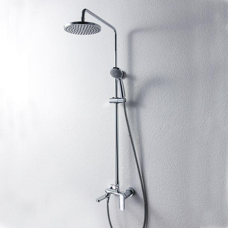 Душевая колонна со смесителем для ванны Bravat Opal