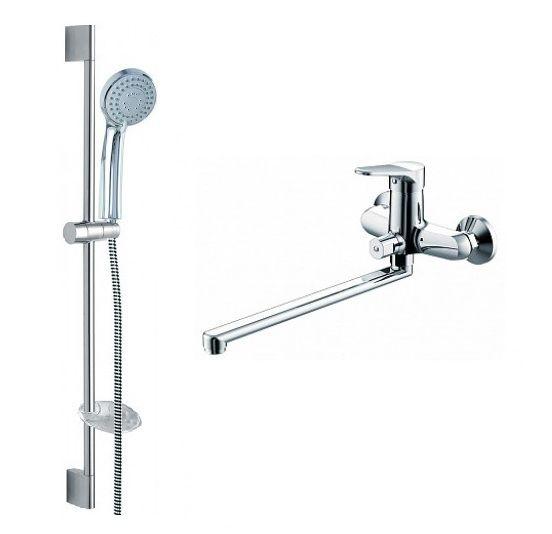 Комплект для ванной комнаты Bravat Eco 2 в 1