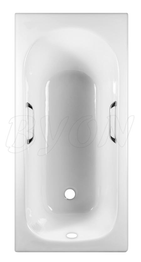 Ванна чугунная BYON 13 - 1500*700*420  с ручками