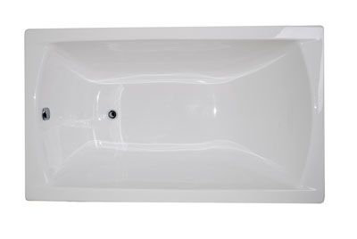 Акриловая ванна POSEIDON Modern 120*70