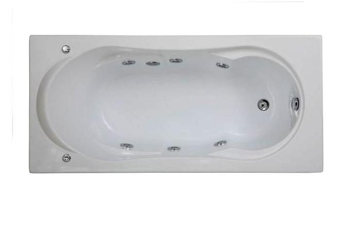 Акриловая ванна Bas АХИН (AHIN) 1700x800 мм с гидромассажем