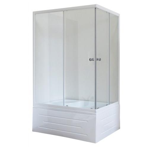 Душевой угол Royal Bath RB 8100ВР-C 100x80 стекло шиншилла L/R