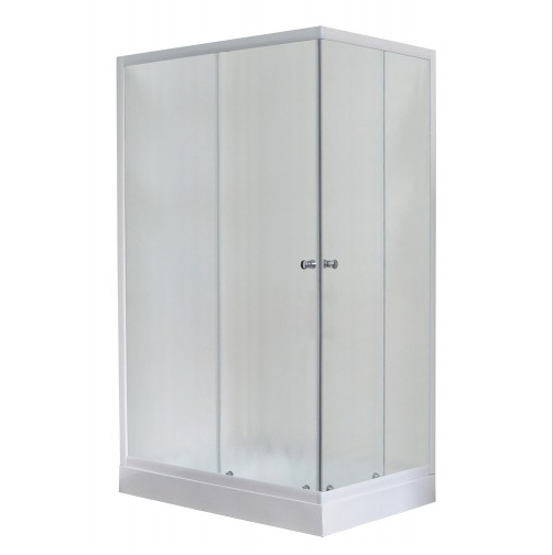 Душевой угол Royal Bath RB 8120НР-C 120x80 стекло шиншилла L/R