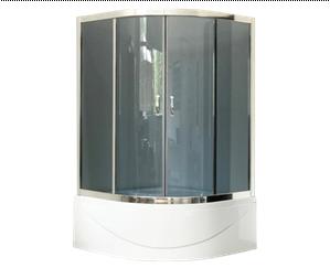 Душевой угол Royal Bath RB 100ВК-G 100x100 стекло тонированное